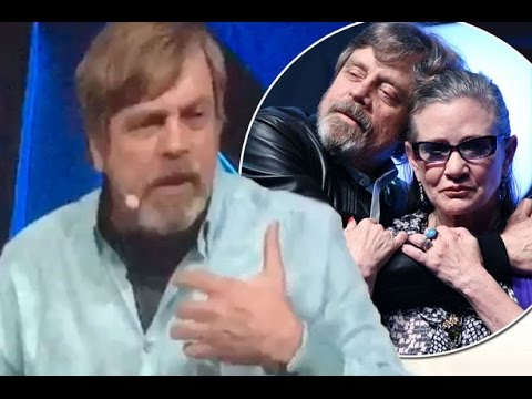 Mark Hamill gets choked up talking about Carrie Fisher